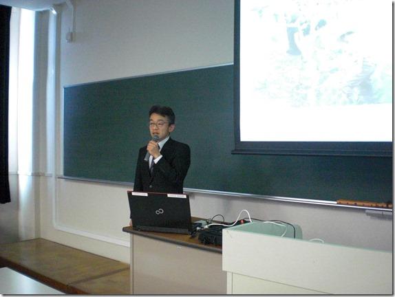 横浜市大で講義しました!